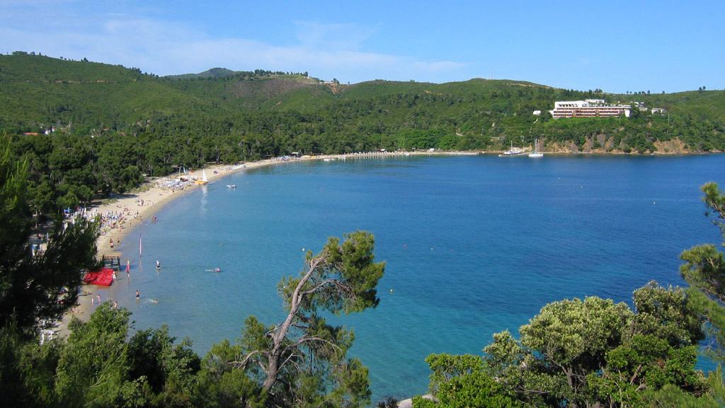 photo of Koukounaries beach, Skiathos
