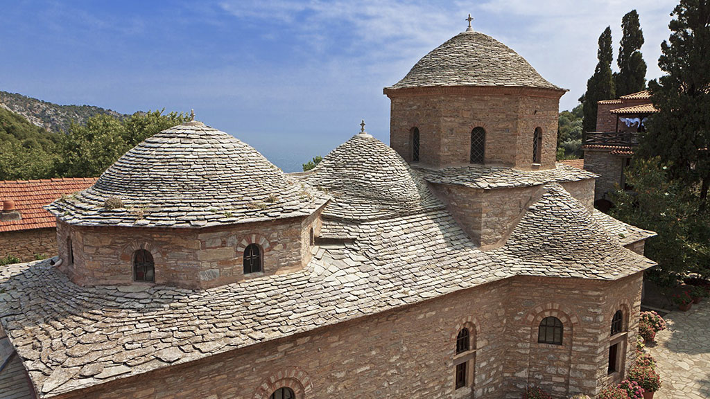 medieval church at Skiathos
